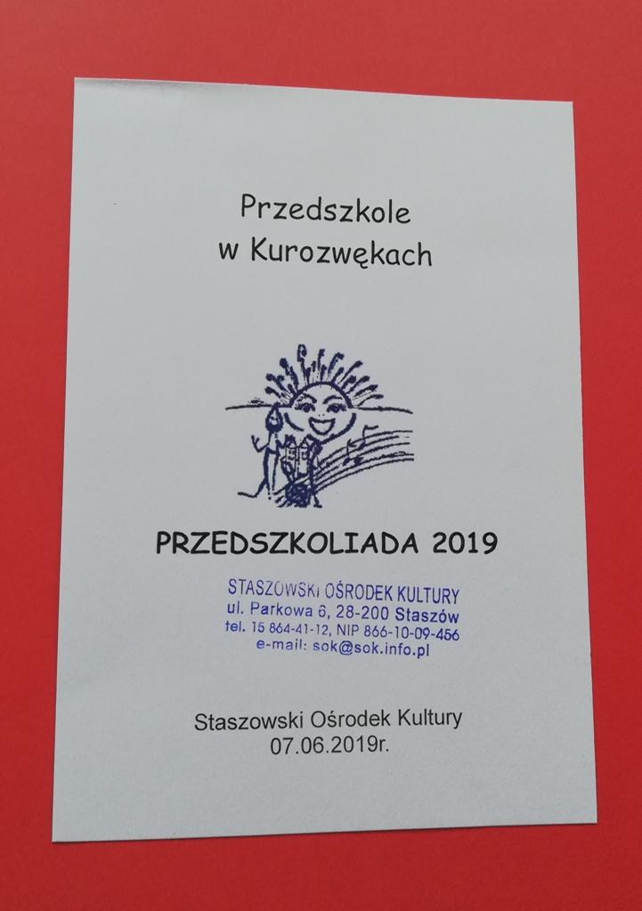 Z życia Przedszkola Psp Kurozwęki
